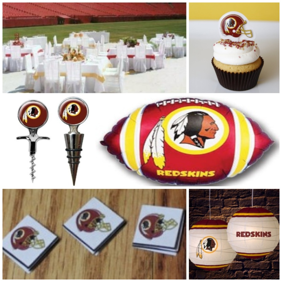 Redskins Themed Party