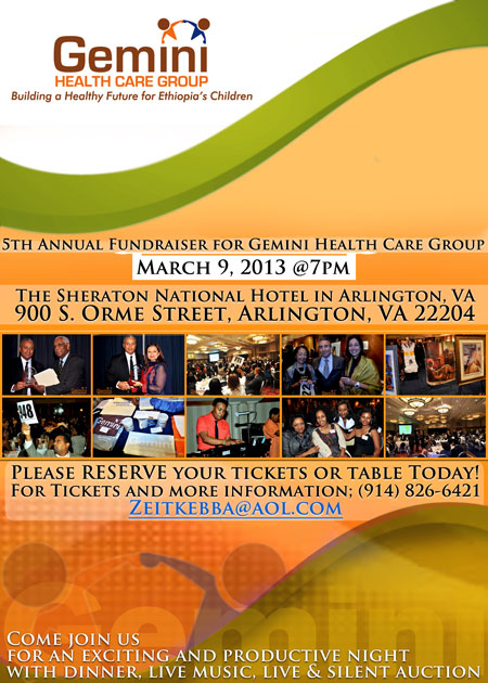 Gemini Health Care Group's 5th Annual Fundraiser