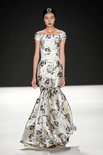 Naeem Khan Floral Dress