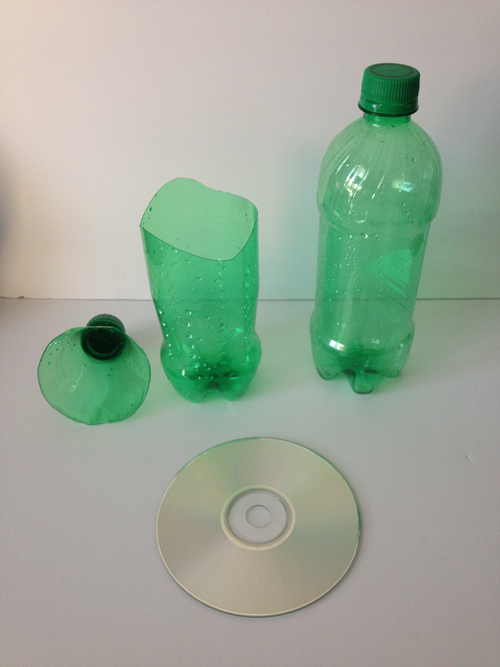 Cut Soda Bottles