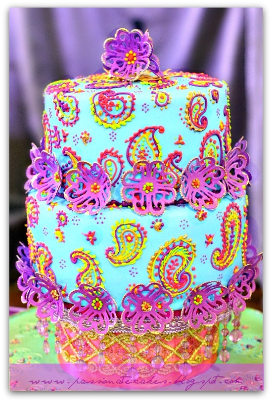 Bollywood Inspired Cake