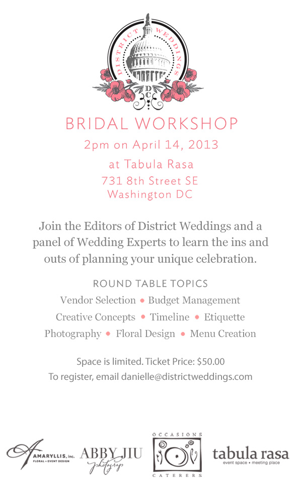 Bridal Workshop
