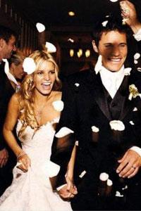 Jessica simpson wedding to nick lachey pictures