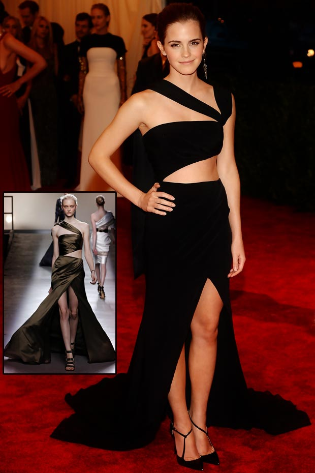 emma-watson-cutout-black-dress-2013-met-gala