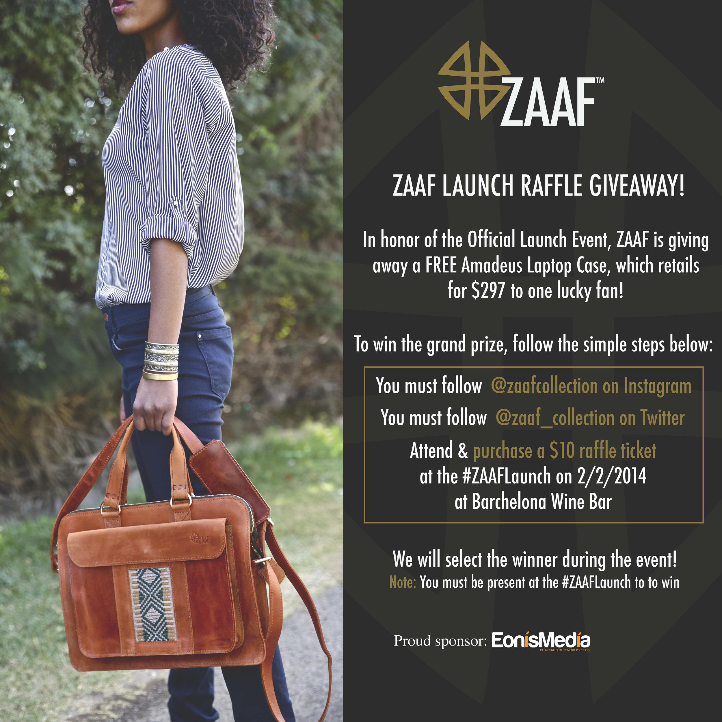 ZAAF Raffle giveaway_01.15.14
