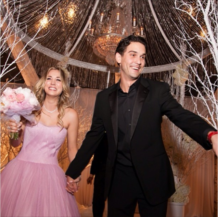 kaley Cuoco wedding