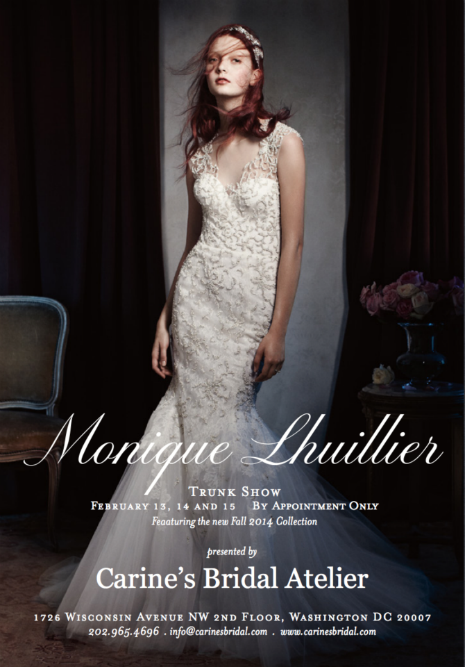 CBA Monique Lhuillier Trunk Show Feb '14 invite