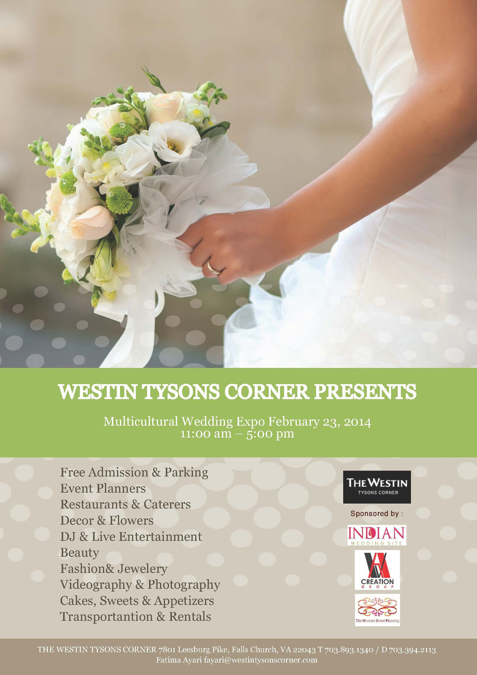 Westin Wedding Expo Flyer (2)