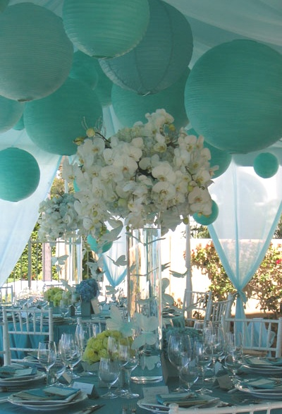 Diamond blue decore