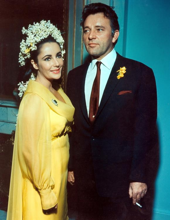 Elizabeth Taylor, Richard Burton, c. 15 Mar 1964