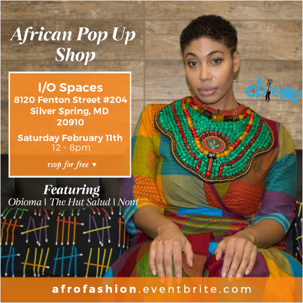 You Re Invited African Fashion Pop Up Shop Dc Wedding Planner Favored By Yodit Events Design