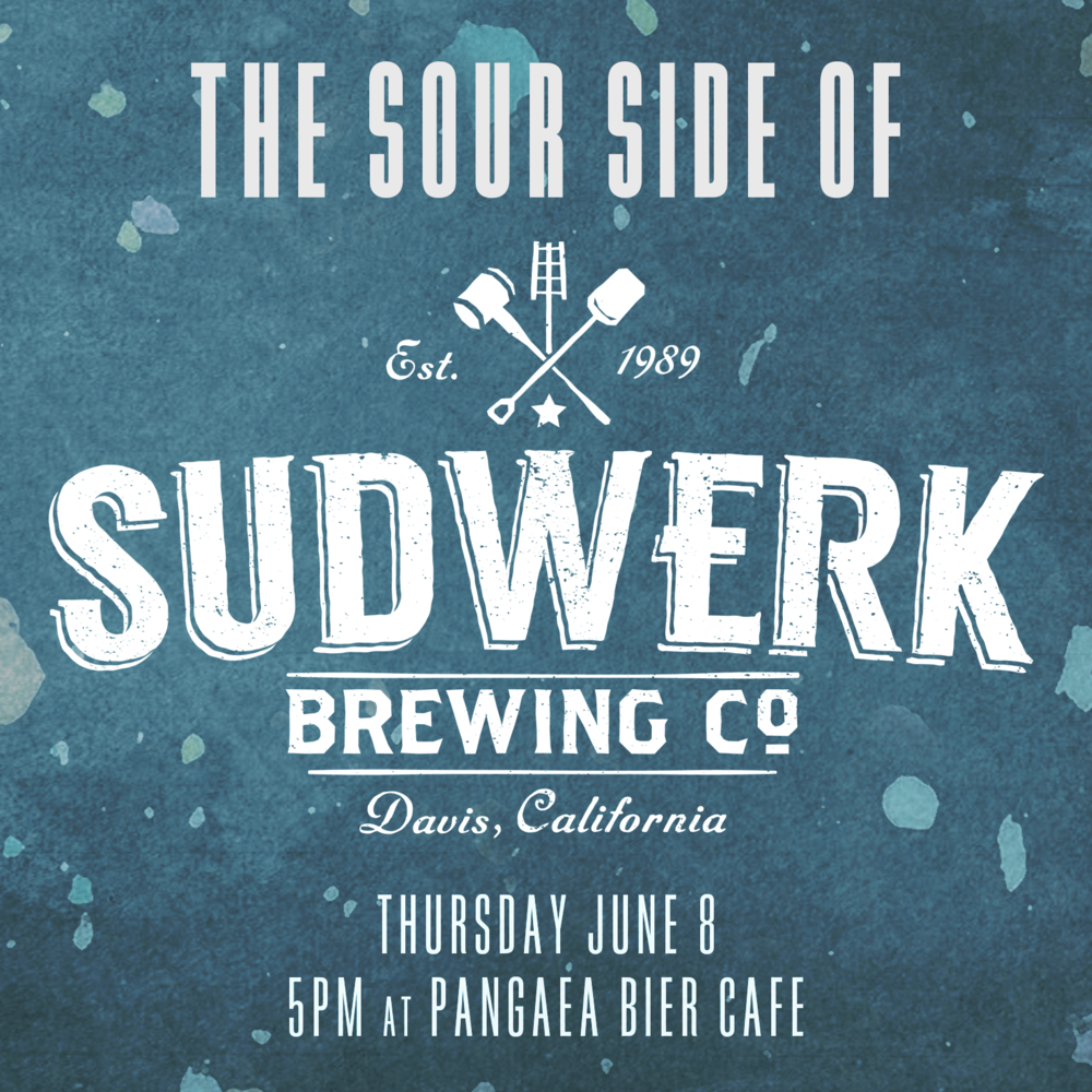 The Sour Side of Sudwerk Thursday, June 8, 5:00 PM  Sudwerk out of Davis is well known for their excellent interpretations of German-style beers.  But in recent years, they've been experimenting with funked up, sour and barrel-aged beers, with great success.  We'll be tapping four of these funky, barrel-aged sours for your sipping pleasure.   We'll have the following beers on tap:  Funke Hop Farm: funky, tart saison, aged in Petite Syrah and Grenache barrels, dry-hopped with Nelson Sauvin, Citra and Simcoe hops Pluot is Not A Planet: sour saison aged in Pinot Noir barrels with pluots Buffalo Theory: sour oatmeal stout aged in Bourbon barrels Uncle Fester: barrel-aged sour doppelbock