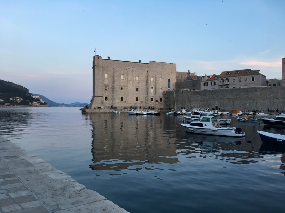 Have you heard of a TV show called Game of Thrones? Seems to be a thing in Dubrovnik.