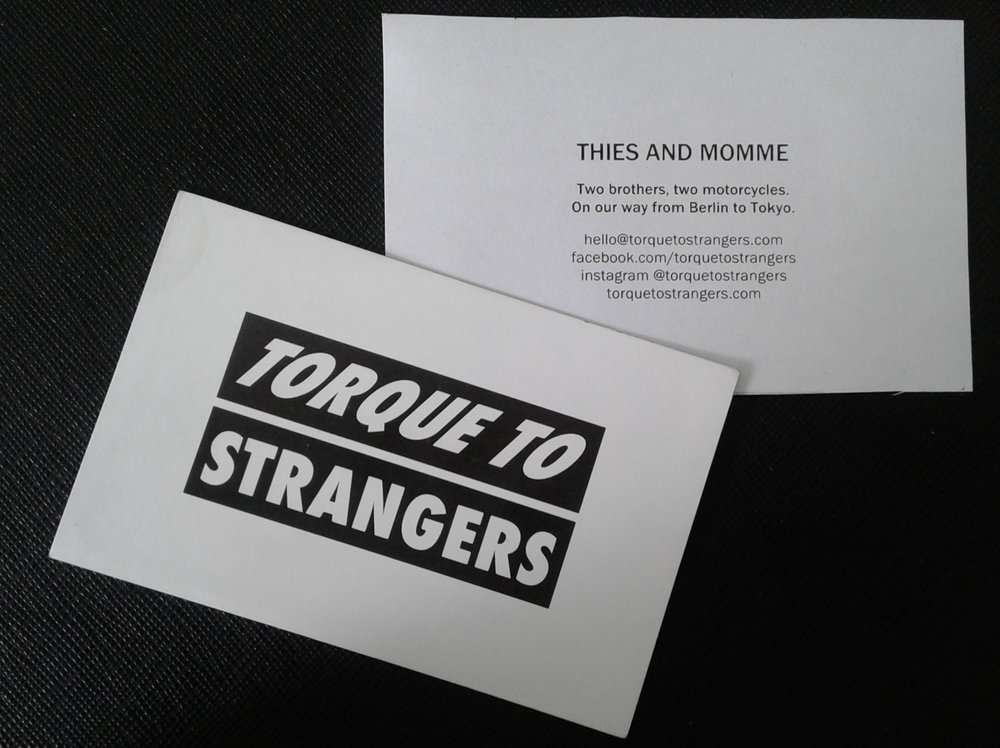 We had 500 cards printed and thought we would never give them away - they are gone.