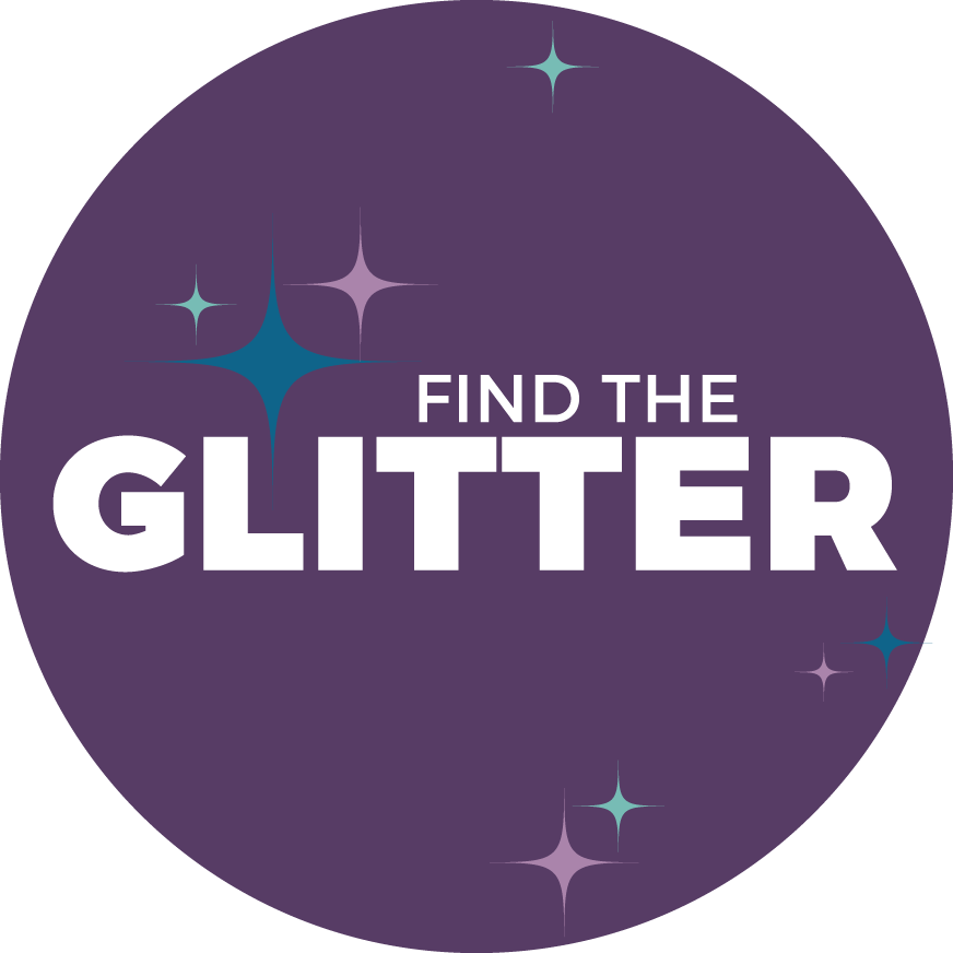 Find the Glitter | The most creative solutions are usually found in the space between the spaces.