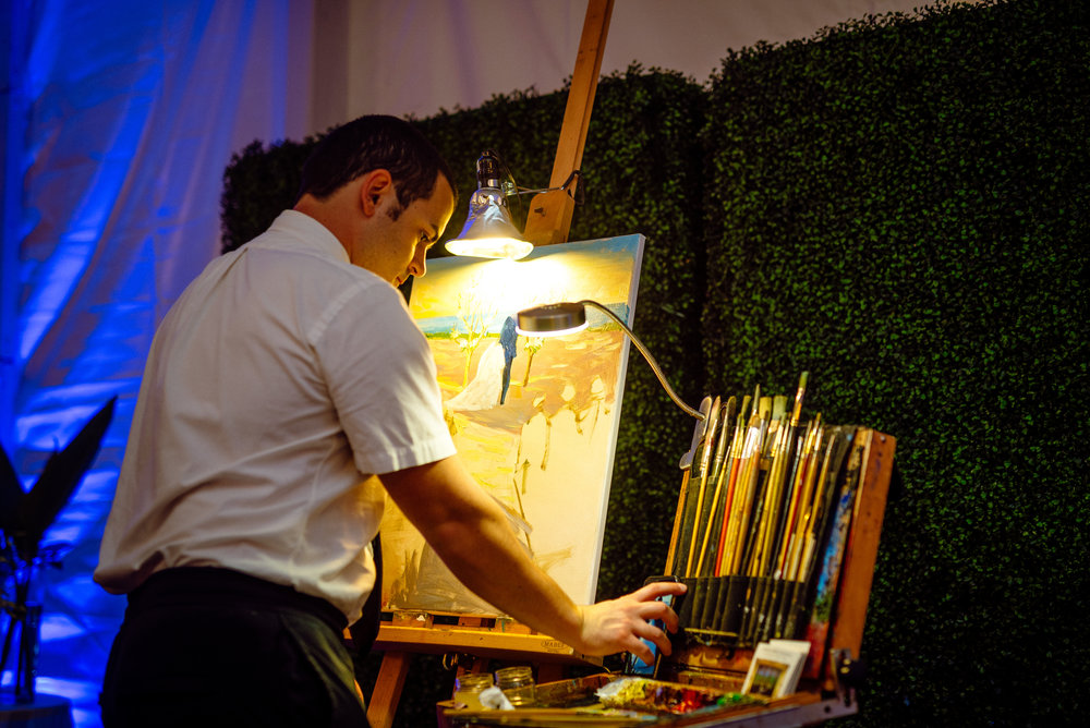 South Seas live artist painter wedding.jpg