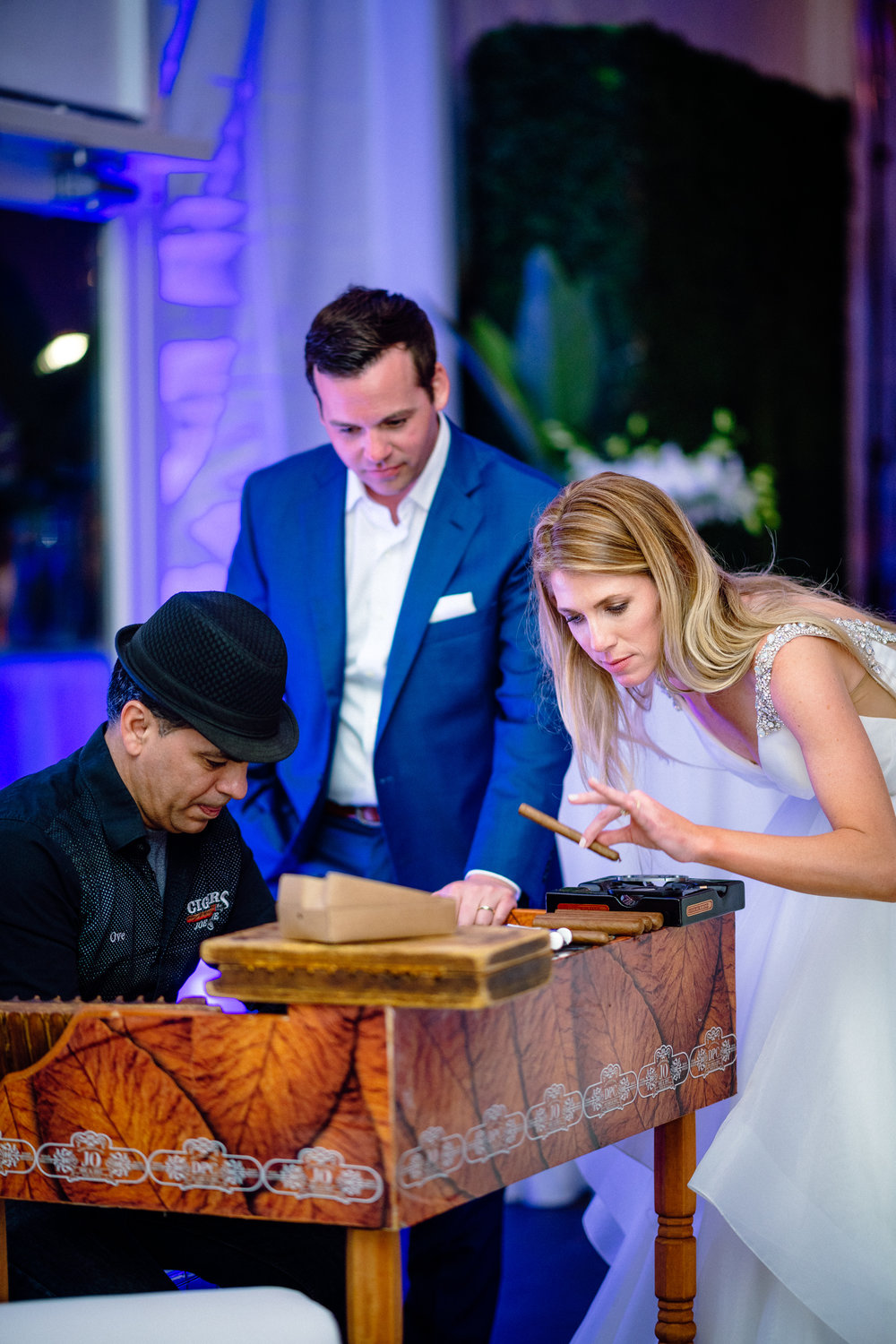 cigar roller wedding reception Florida Captiva.jpg