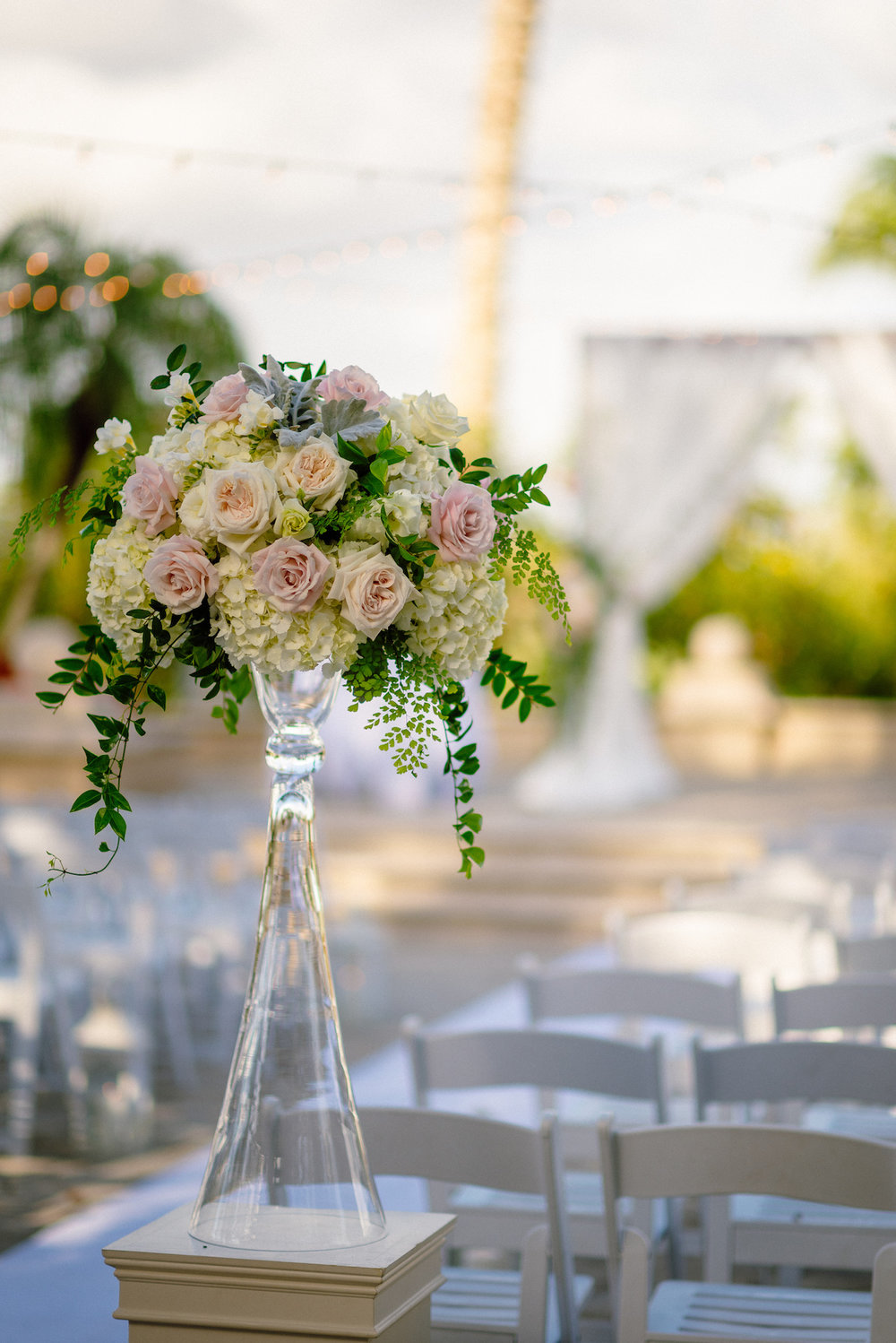 Pink Roses Wedding Ceremony Matt Steeves Photography Naples Florida.jpg