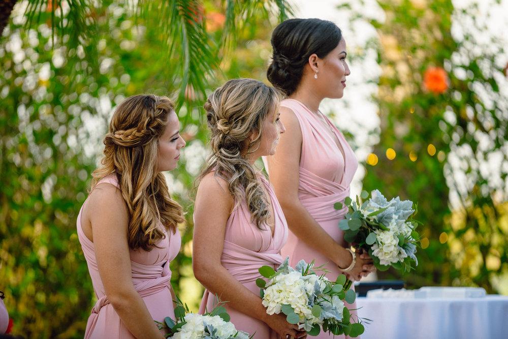Bridesmaids in Pink Weddings Naples Florida Matt Steeves.jpg