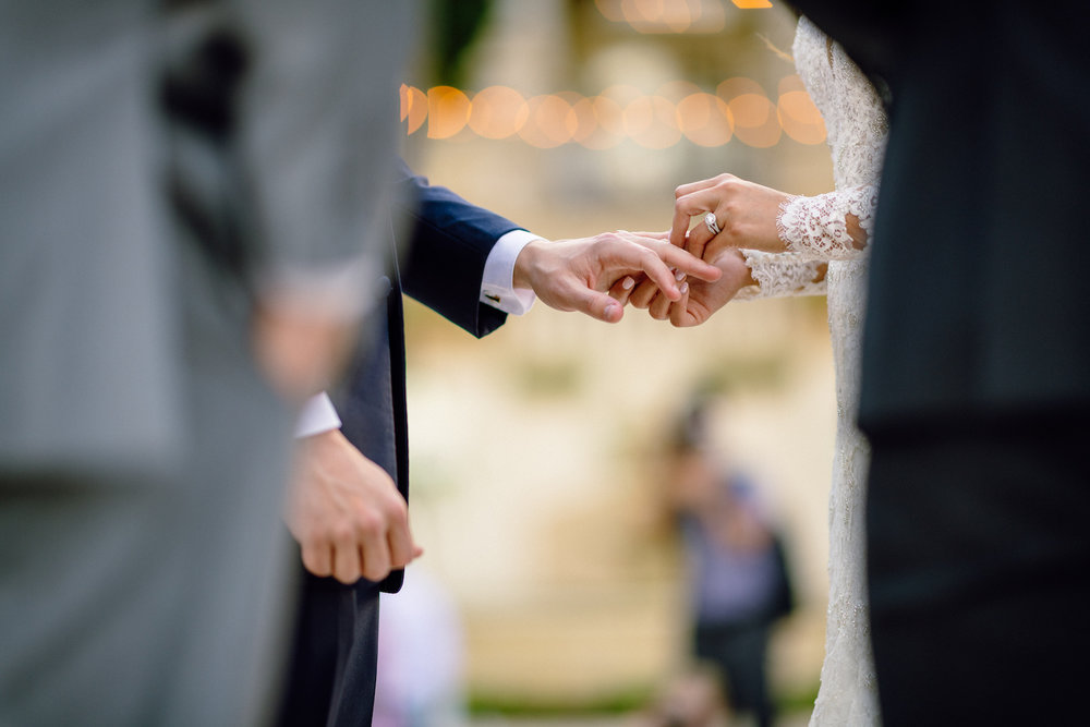 Ring Exchange Wedding Ceremony Matt Steeves Photography The Club at the Strand.jpg