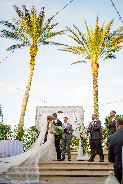 First Kiss Wedding Photography Matt Steeves Florida Destination Weddings.jpg