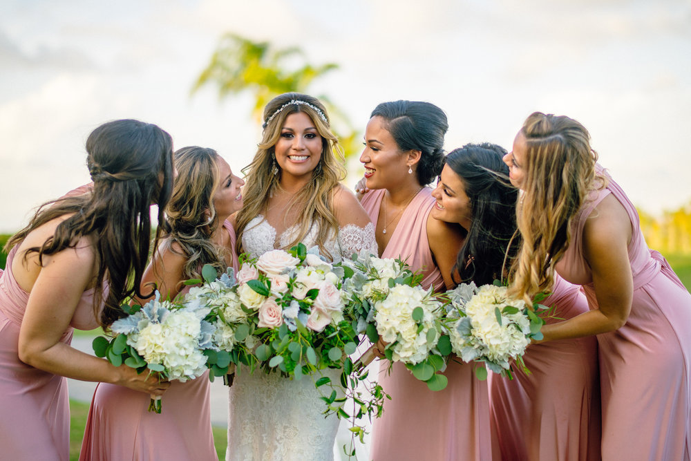 Pink Bridal Party Fort Myers Naples FL Weddings Matt Steeves.jpg