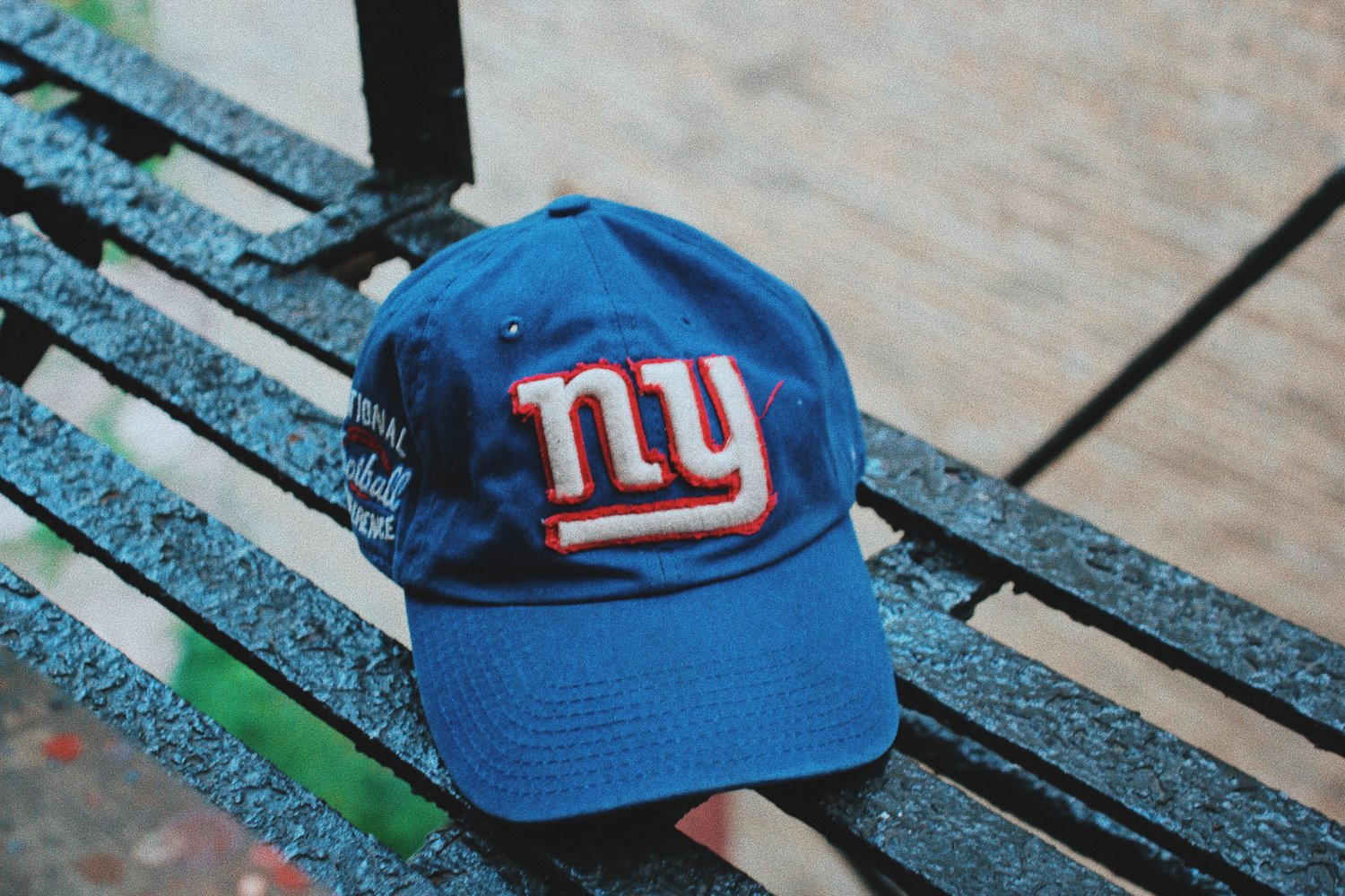b757762827a02 New York Giants Dad Hat — Out Da Woods