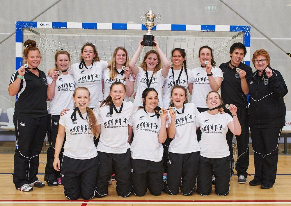 NZ U20 WOMEN - Oceania Champions 2014