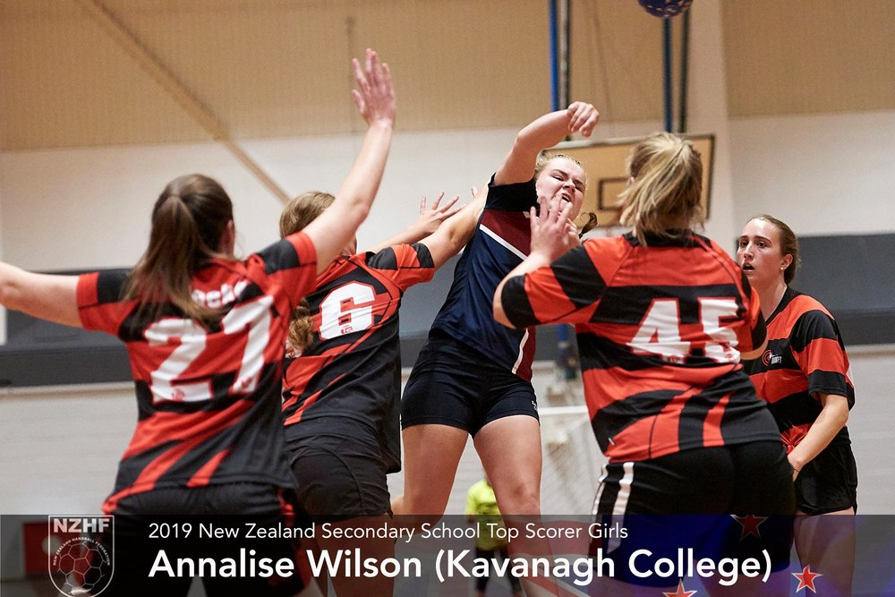 2019 Girls Top Goal Scorer Annalise Wilson Kavanagh College.jpg