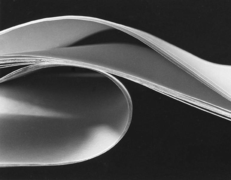 ribbon gelatin silver print