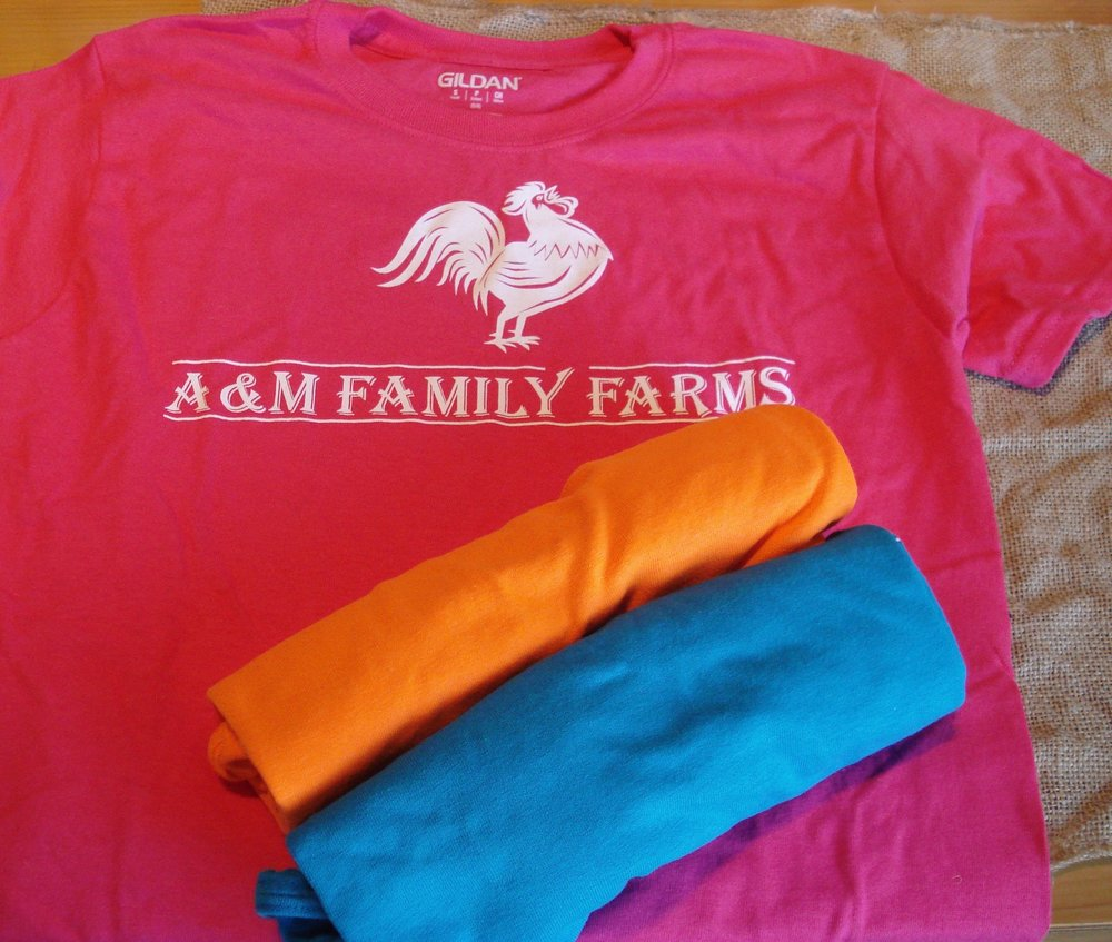 f25e7f79 PRICE INCLUDES SHIPPING! Youth Tee Shirts — A & M Family Farms