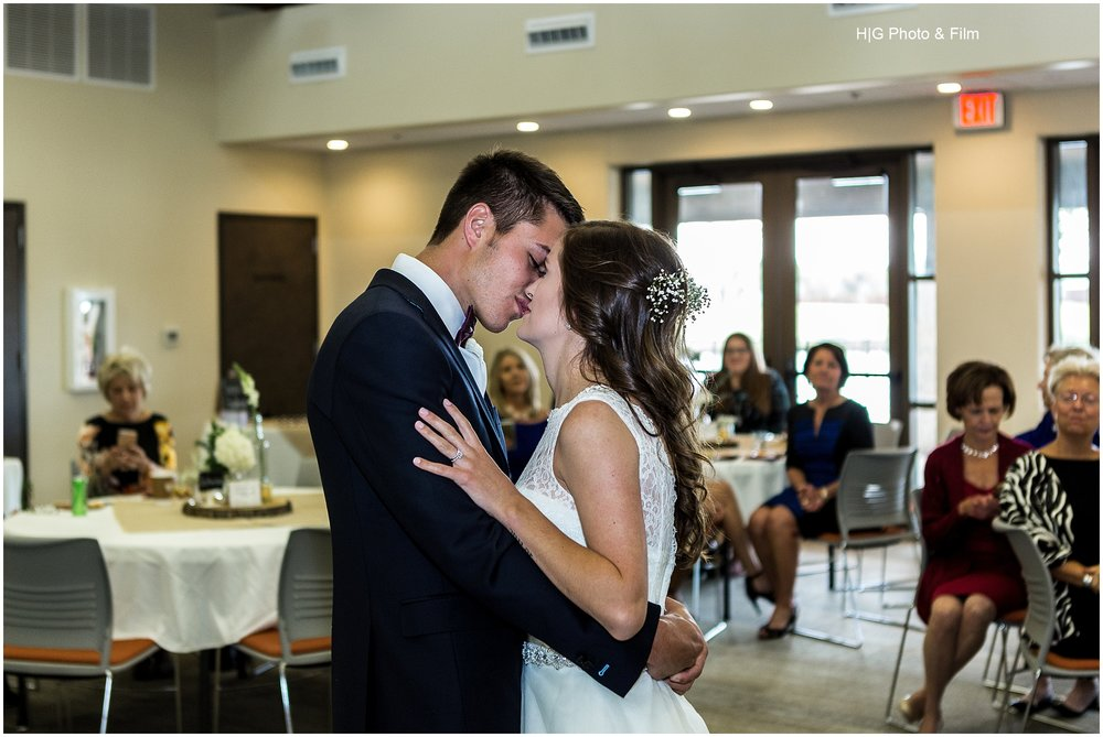 First dance as husband and wife was so sweet