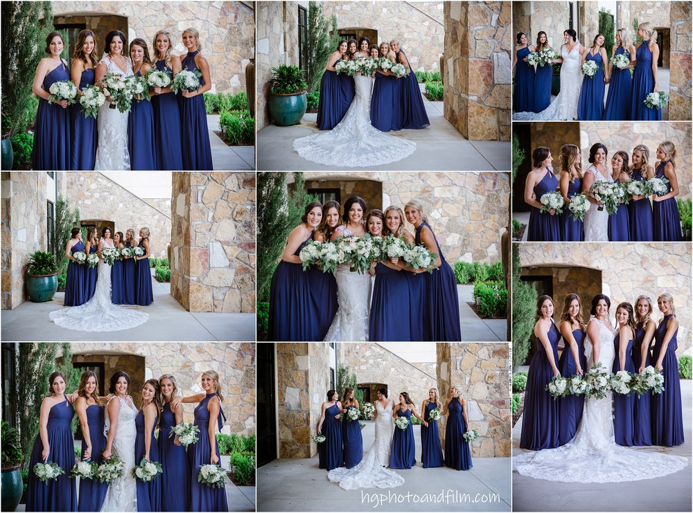 Those bridesmaids!