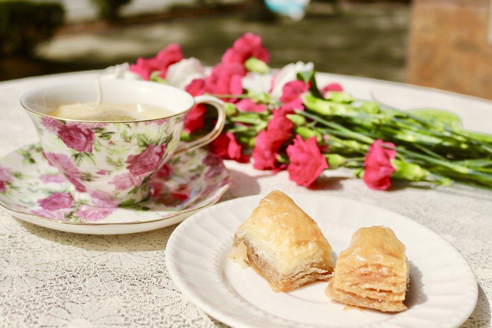 baklava & tea