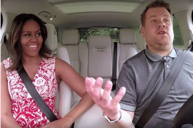 Carpool Karaoke Michelle Obama