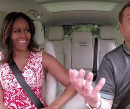 2016 What Year Carpool Karaoke With Michelle Obama Image.JPG