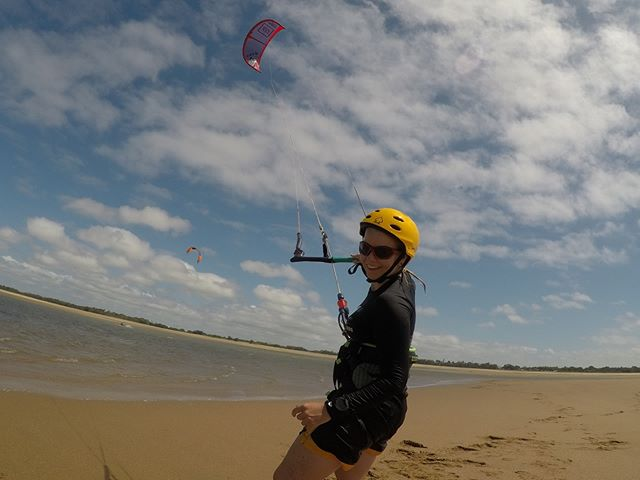 Cassie's first kiteboarding lesson #kiteboarding#kitesurfing #townbeach#beachlife#windydays#smiles#fun#flyingfun #saltysea#kiteboardinglesson#kiteboardingaustralia #girlpower#northkiteboarding😃
