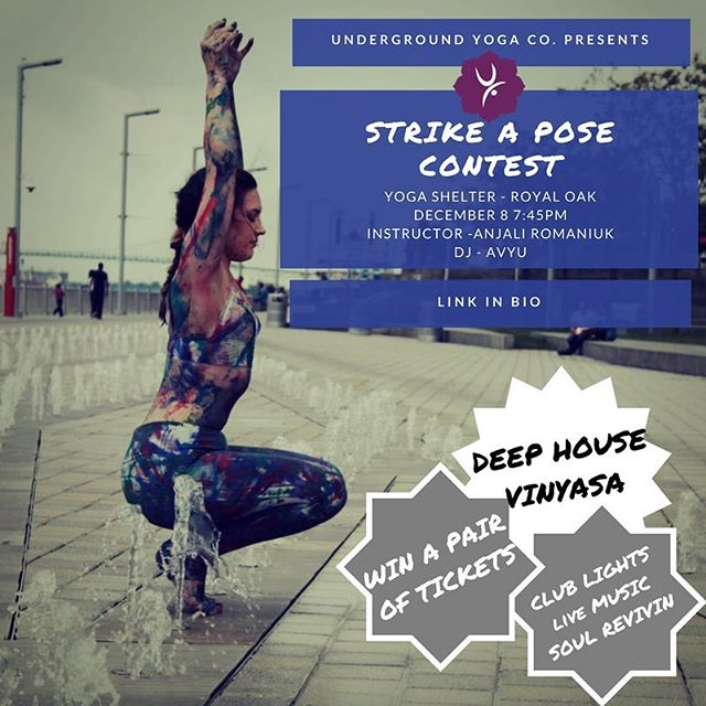 ✨ CONTEST ANNOUNCEMENT ✨ We are OFFICIALLY giving away a FREE pair of passes to our DEEP HOUSE Vinyasa event on December 8th! 🤙🏽 The rules are simple: comment on this post with your favorite yoga pose, and tag a friend you want to bring with you! We will be announcing the lucky winner on December 1st 💙 Best of luck to you all. Purchase your tickets now selling fast. Winners will be reimbursed! Namaste 🌟