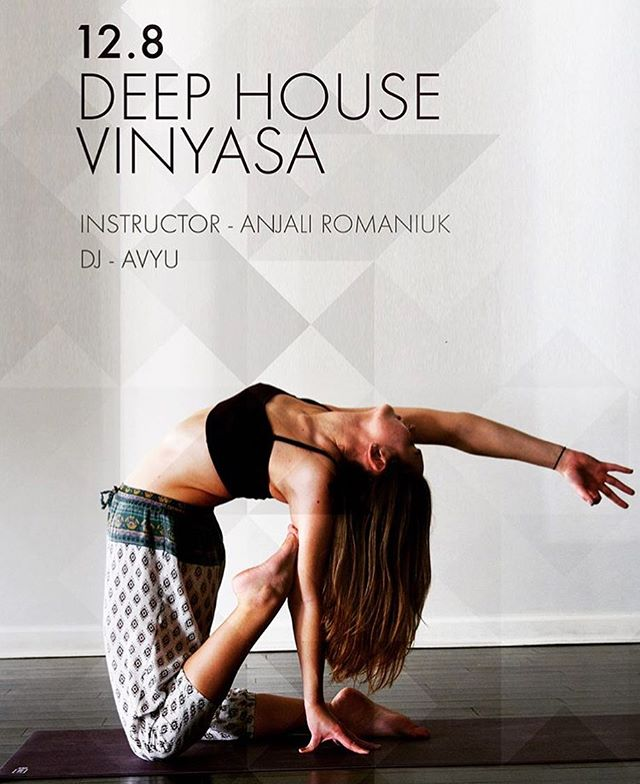 THE TIME IS NOW!!! DEEP HOUSE VINYASA AT YOGA SHELTER ROYAL OAK! Head over to { @pbanjelii } page LINK IN BIO💓🔥✨