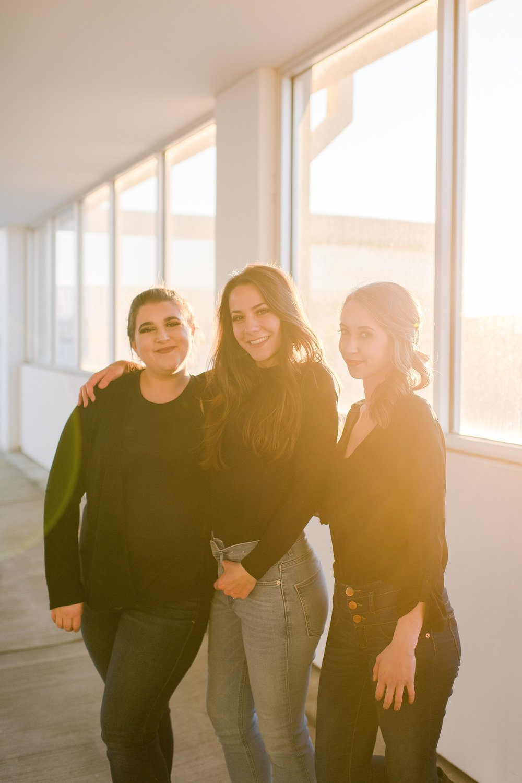 The Team - Photographer Morgan Wiley / Morgan Lynn Portraits, LLCHair Stylist Sarah Bouchard / Divine Family Hair SalonMakeup Artist Brianna Landry / Bris Beauty