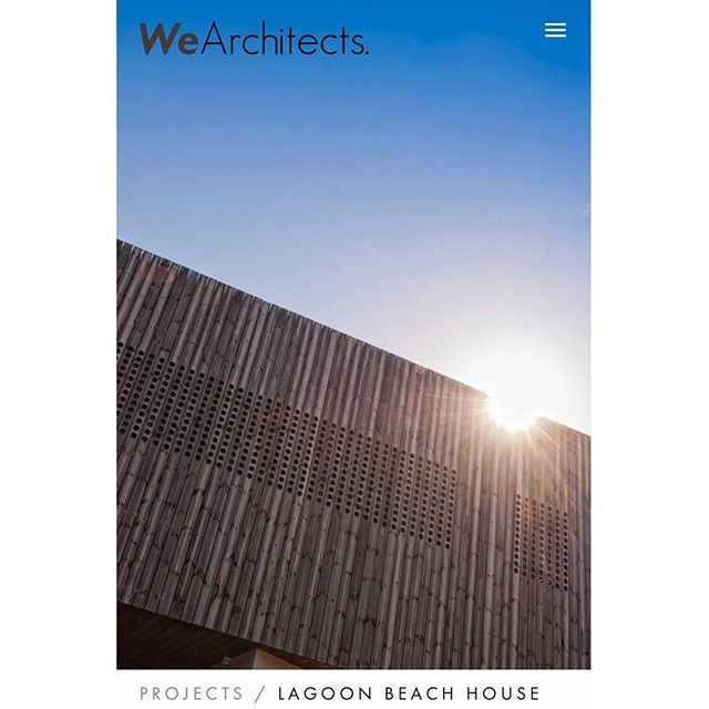 And We are live! 👌 Check out the website via ➖ www.wearchitects.com.au ➖ direct link in profile Homepage shot of Award-Winning Lagoon Beach House, Low Head Tassie Designed + Completed by Ed Gordon as Project Architect for Birrelli Architects. 📷 @robburnettimages 💻 website + branding by the beautiful @stefaniekateacworth