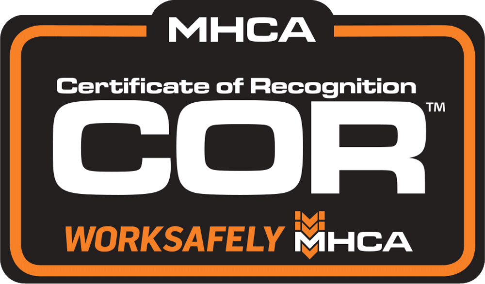 MHCA - Certificate of Recognition