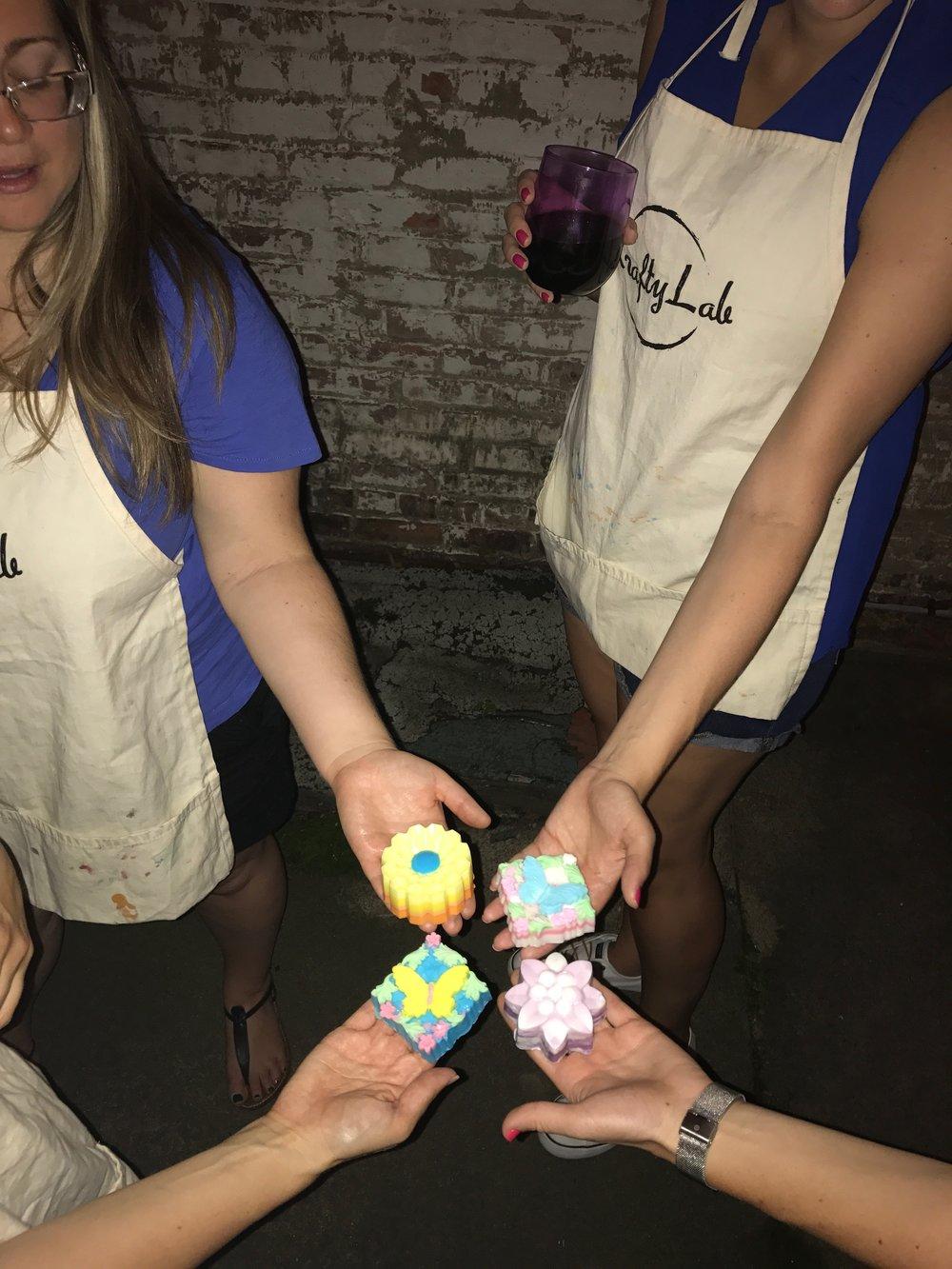 Hoboken Soap Making Class - Hoboken Soap Making Party