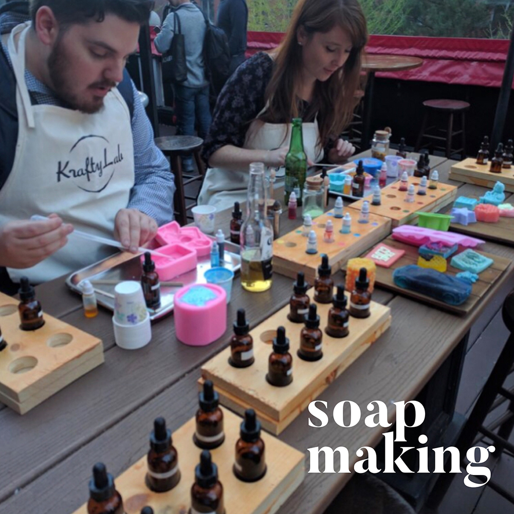 Hoboken Soap Making Class - Birthday Parties - Corporate Events