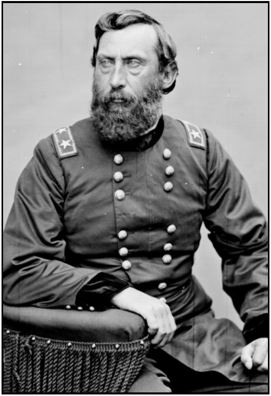 General Henry Jackson Hunt—Photo Credit:  Mathew Brady, via Wikimedia Commons
