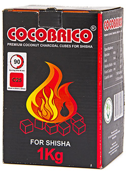 Coconut Coals - Better quality. Longer smoke time.