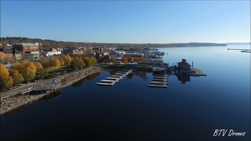 BTV Drones Burlington Vermont Aerial
