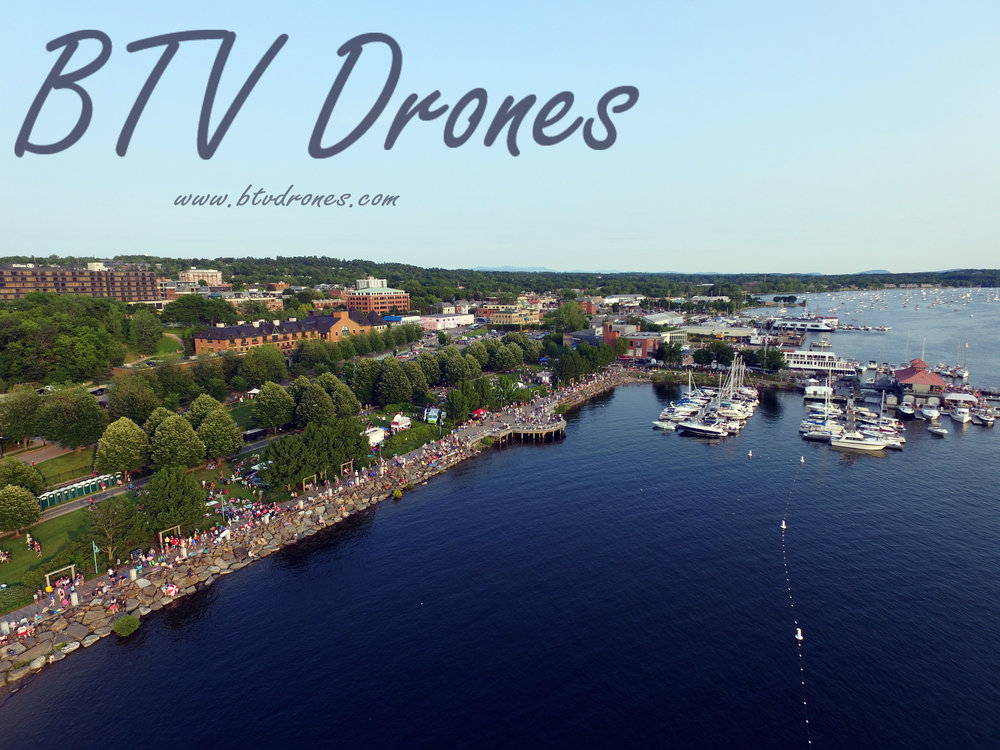 Burlington Vermont Aerial Drone Photography