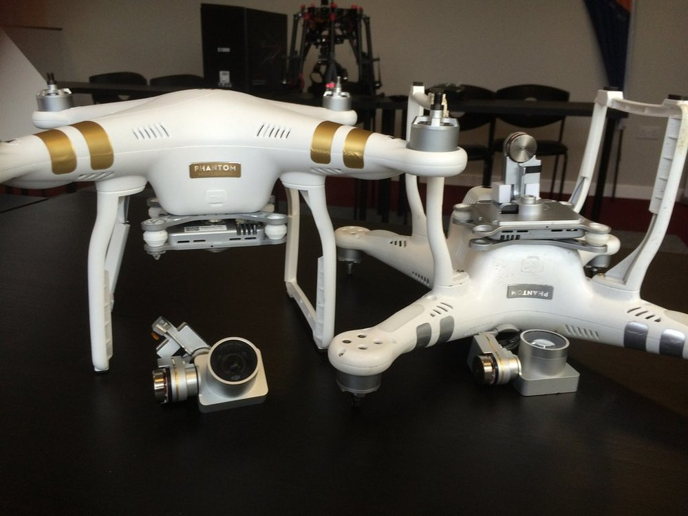 Phantom 3 drone repair