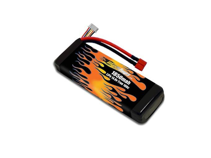 Max Amps LiPo 1850mAh 4S 14.8v XT60 Battery Pack